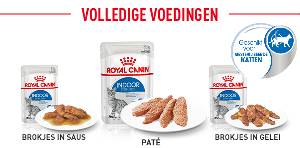 Royal Canin Indoor Sterilised Paté