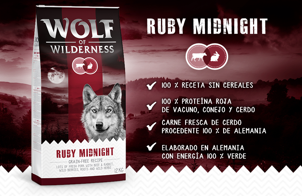 Wolf of Wilderness vacuno y conejo