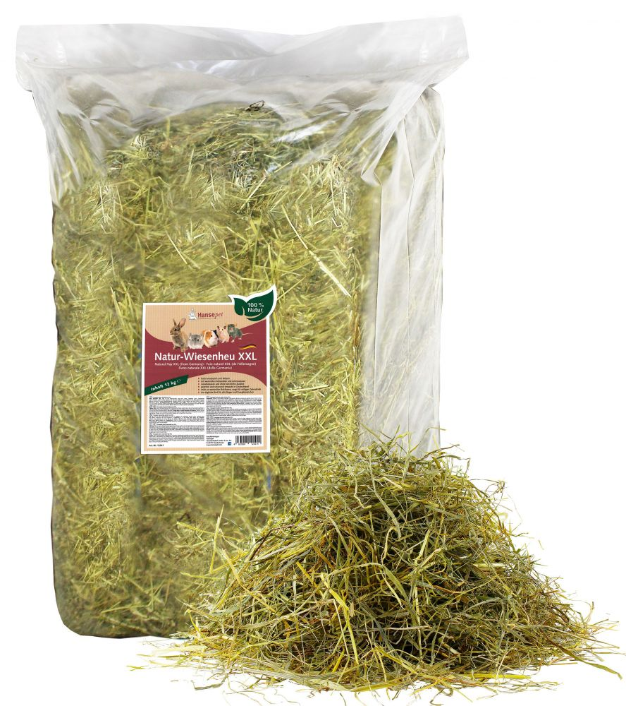 12kg Natural Meadow Hay