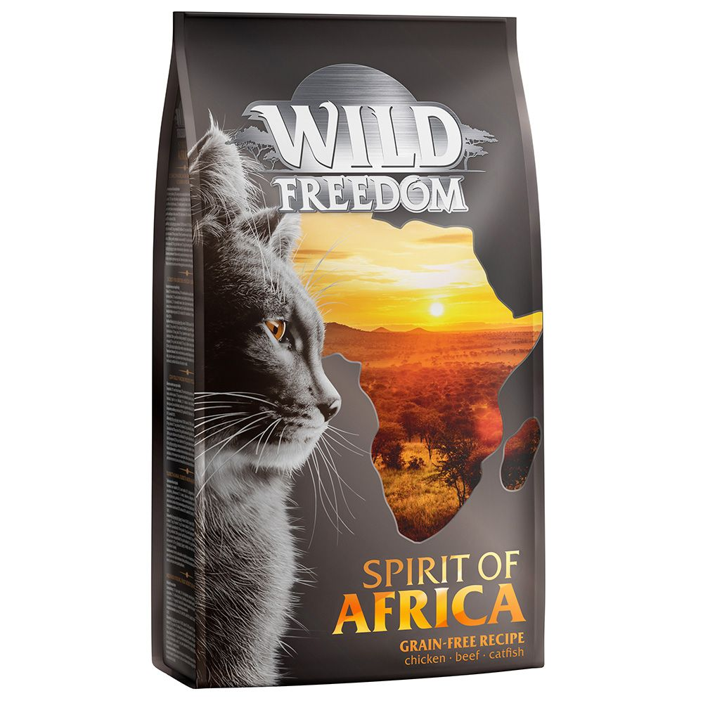 3x2kg Adult Spirit of America Wild Freedom Dry Cat Food