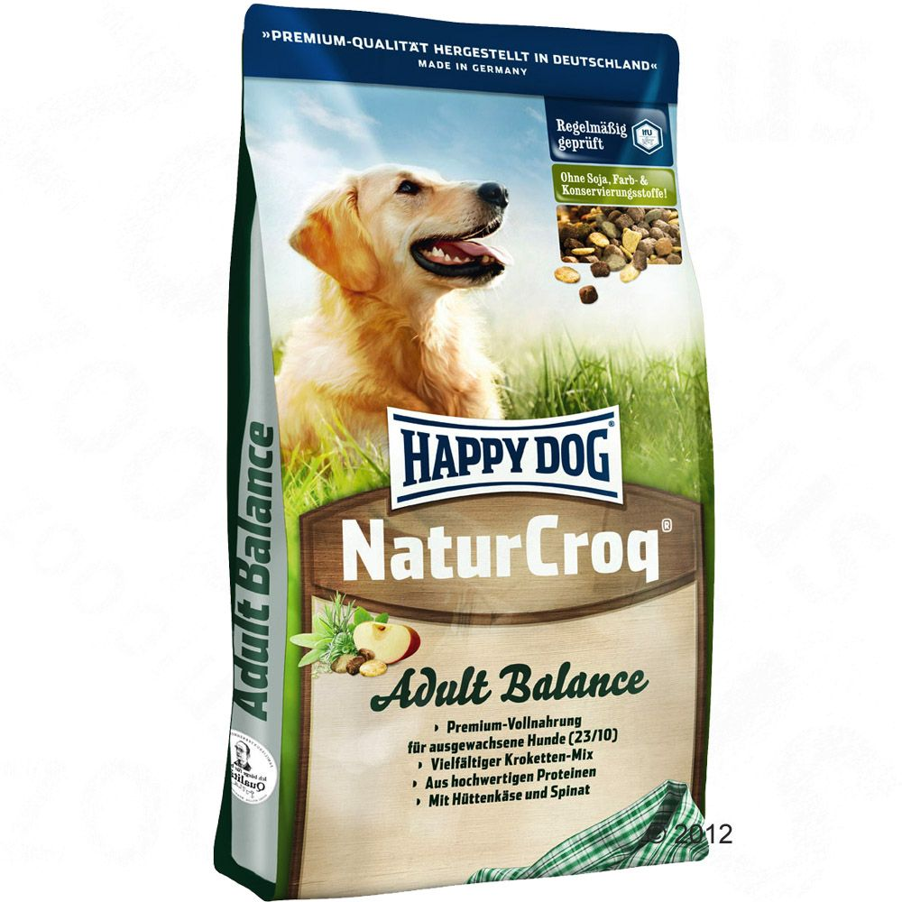 Foto Happy Dog NaturCroq Balance - 15 kg Crocchette Happy Dog