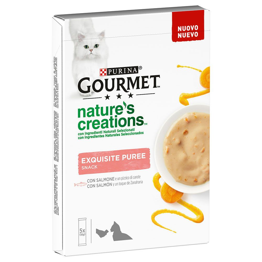Gourmet Nature's Creations Snack 5 x 10 g - Salmon & Carrots