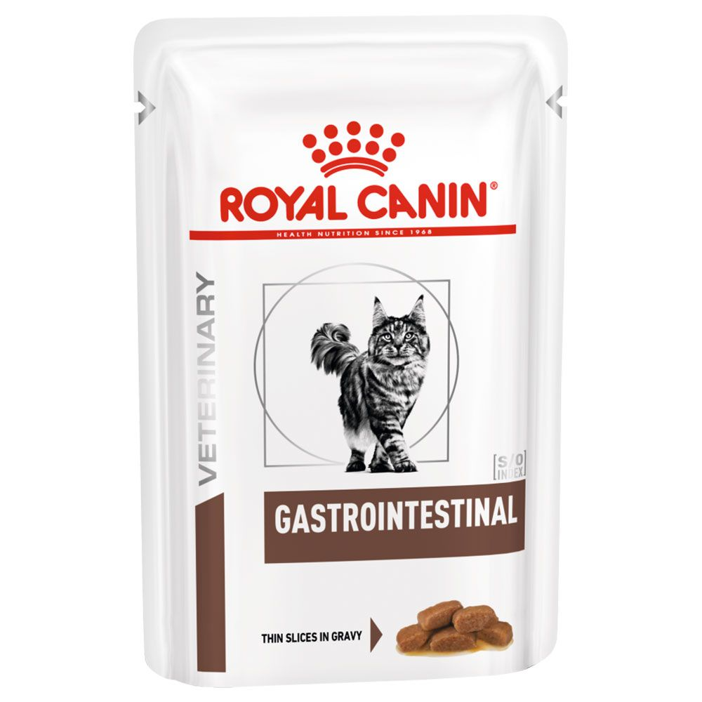 Gastro Intestinal Pouches Saver Pack Feline Royal Canin Veterinary Diet Wet Cat Food