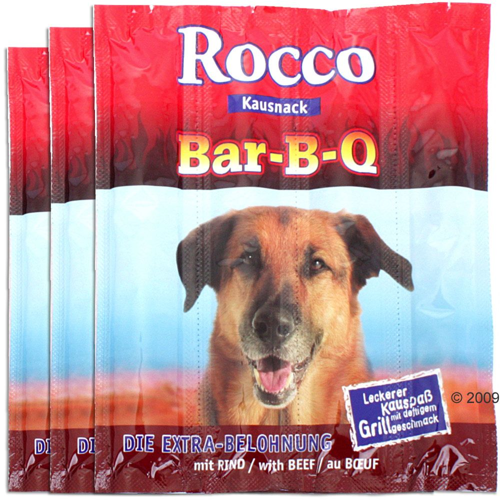 Rocco BBQ Sticks 3 x 4 Pack