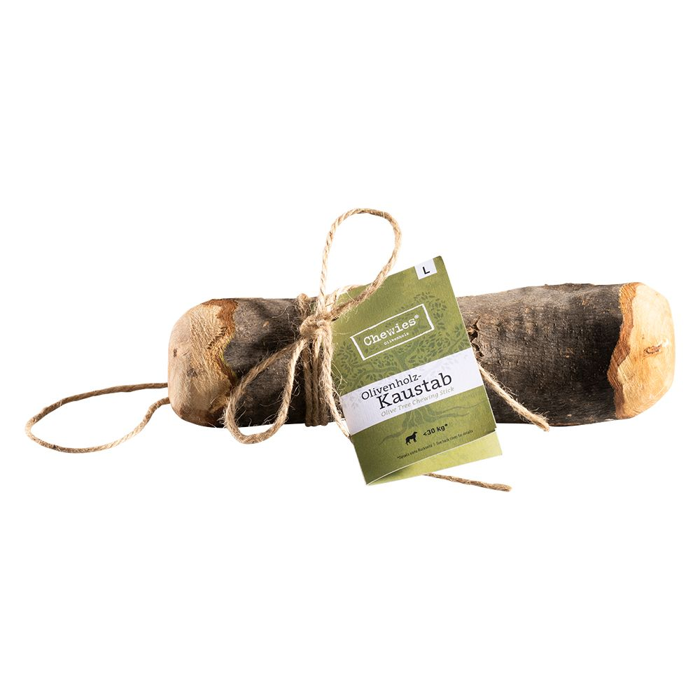 Image of Bastone da masticare Chewies in legno di olivo - M (per cani