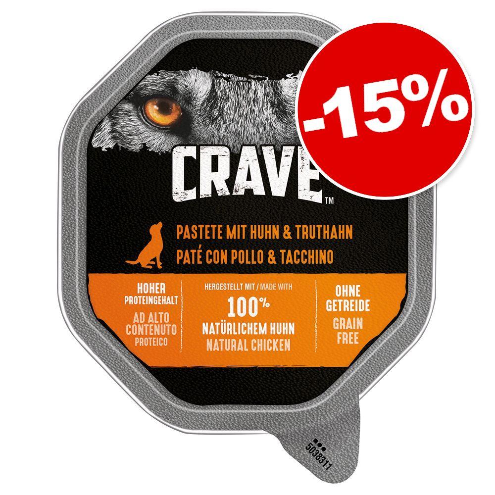 150g agneau, boeuf Crave barquette pour chien