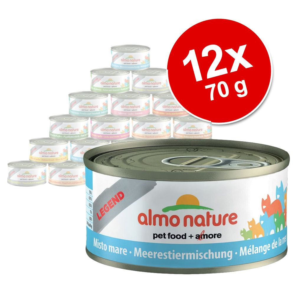 Image of Almo Nature Legend 12 x 70 g - Tonno con Vongole