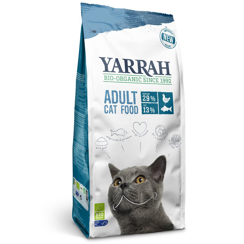 Yarrah Organic with Fish Dry Cat Food
