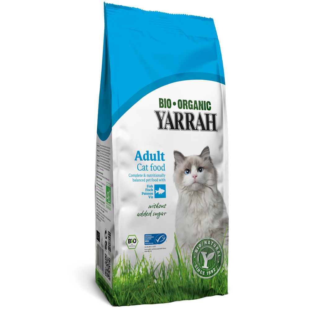 Foto Yarrah Bio Cat Food Pesce - 2 x 10 kg - prezzo top! Crocchette Yarrah Bio