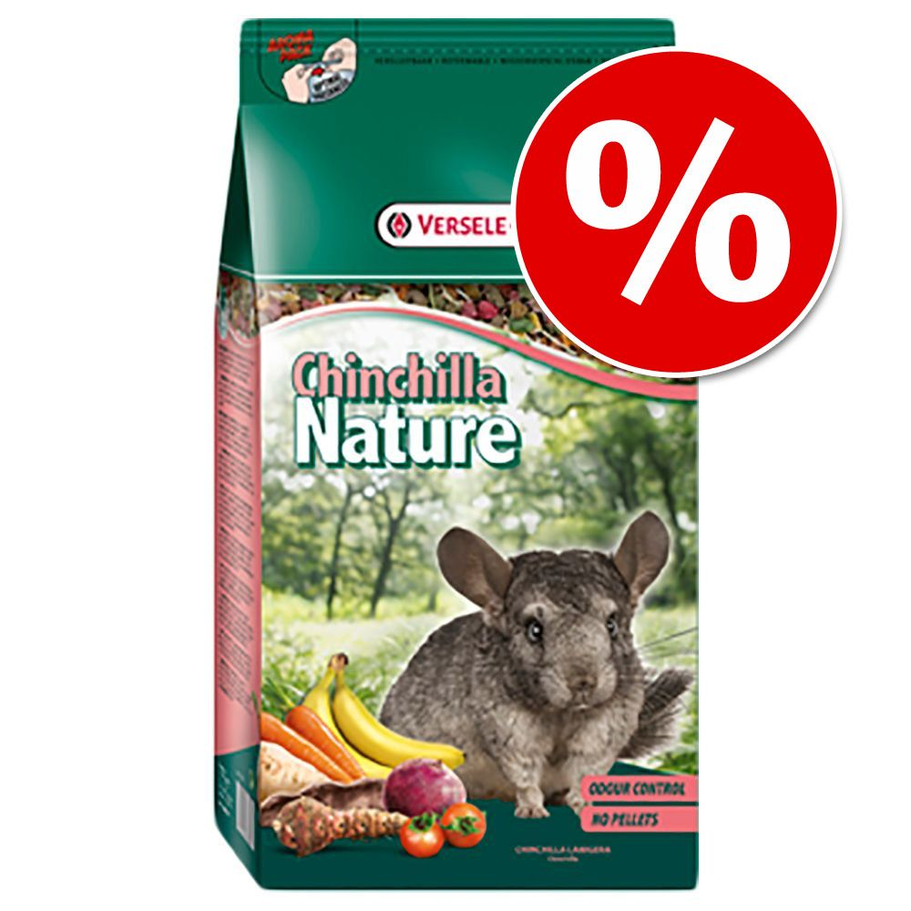 Foto Cincillà Nature - 2 x 10 kg - prezzo top! Versele Laga