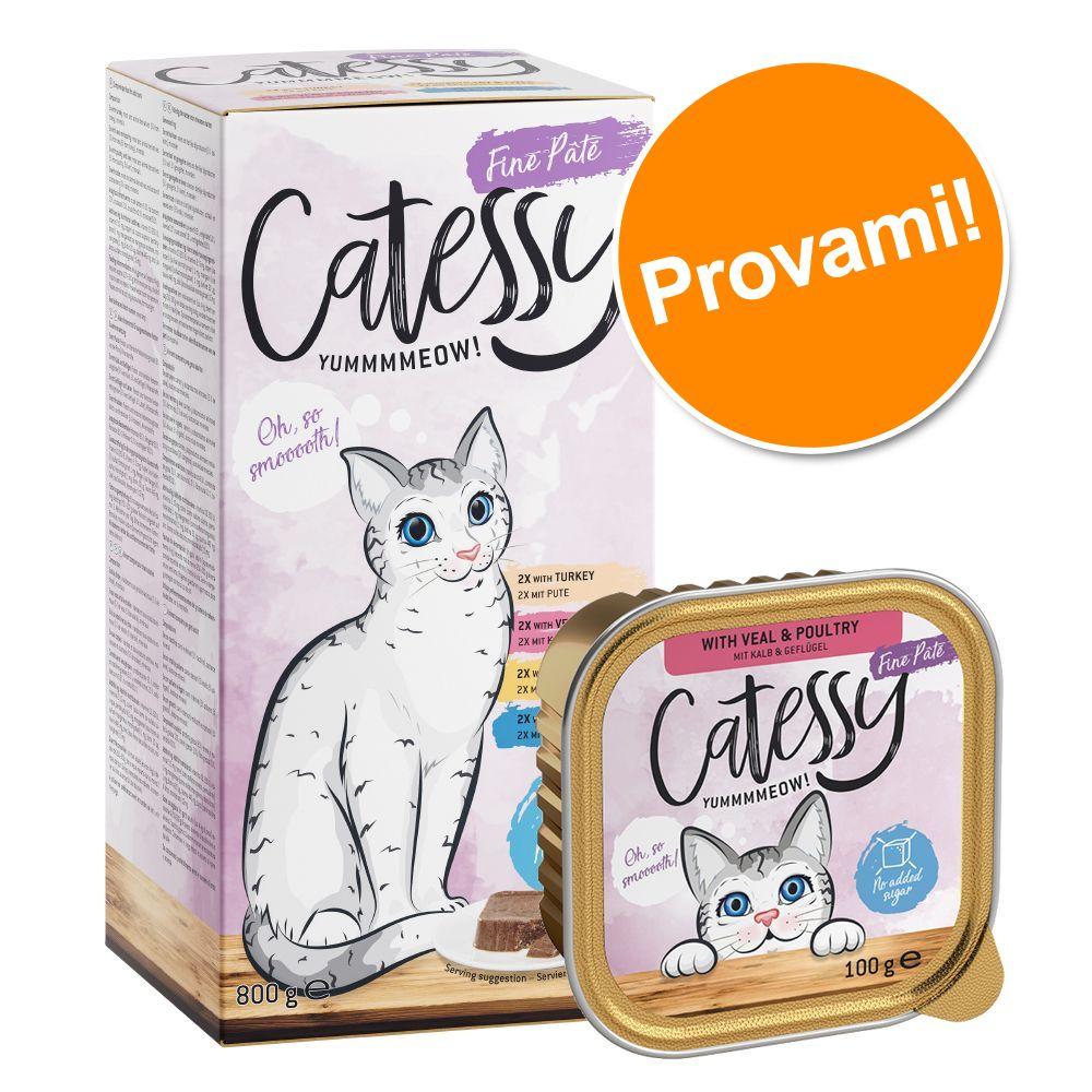 Image of Catessy Delicato Patè assortiti - Set %: 64 x 100 g