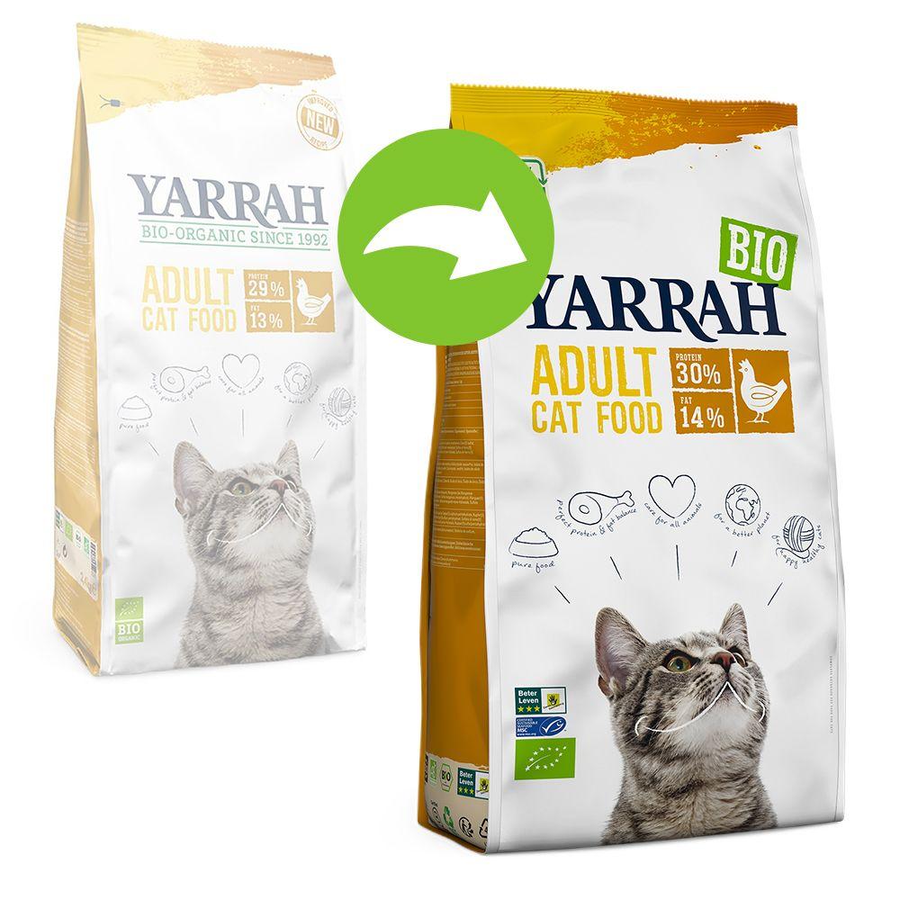 Yarrah Organic med ekologisk kyckling - Ekonomipack: 2 x 2,4 kg