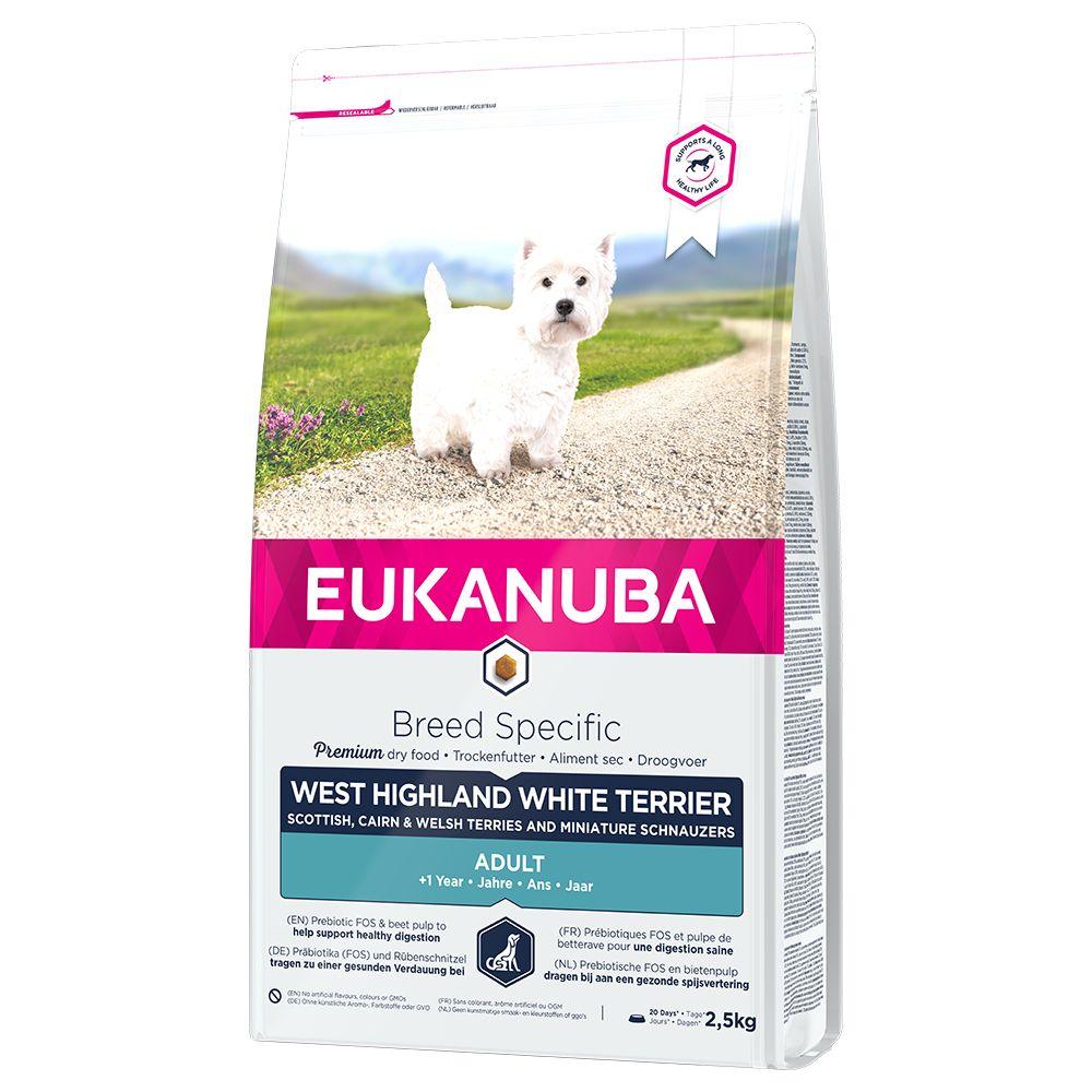 Eukanuba West Highland White Terrier Adult - Economy Pack: 2 x 2.5kg