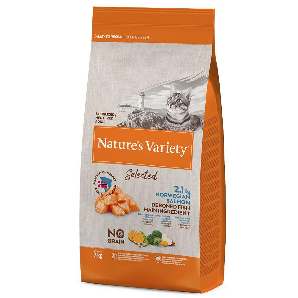 Nature's Variety Selected Sterilised Norwegian Salmon - Ekonomipack: 2 x 7 kg