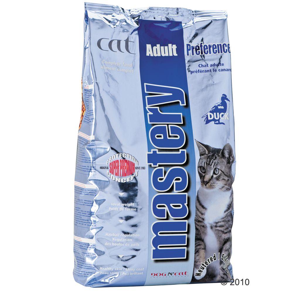 Foto Mastery Cat Adult Preference all'anatra - 3 kg Mastery Gatti sterilizzati