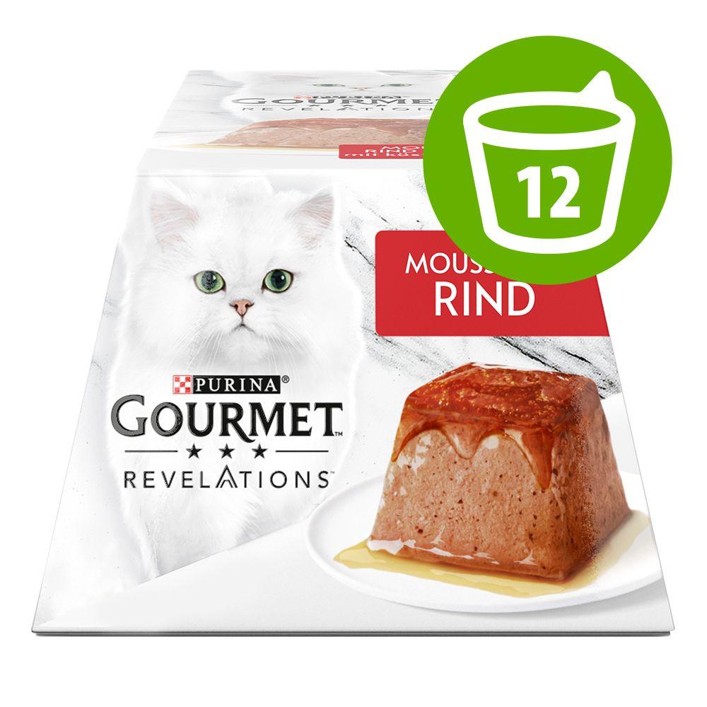 12 x 57 g Gourmet Revelations Mousse - Tonfisk