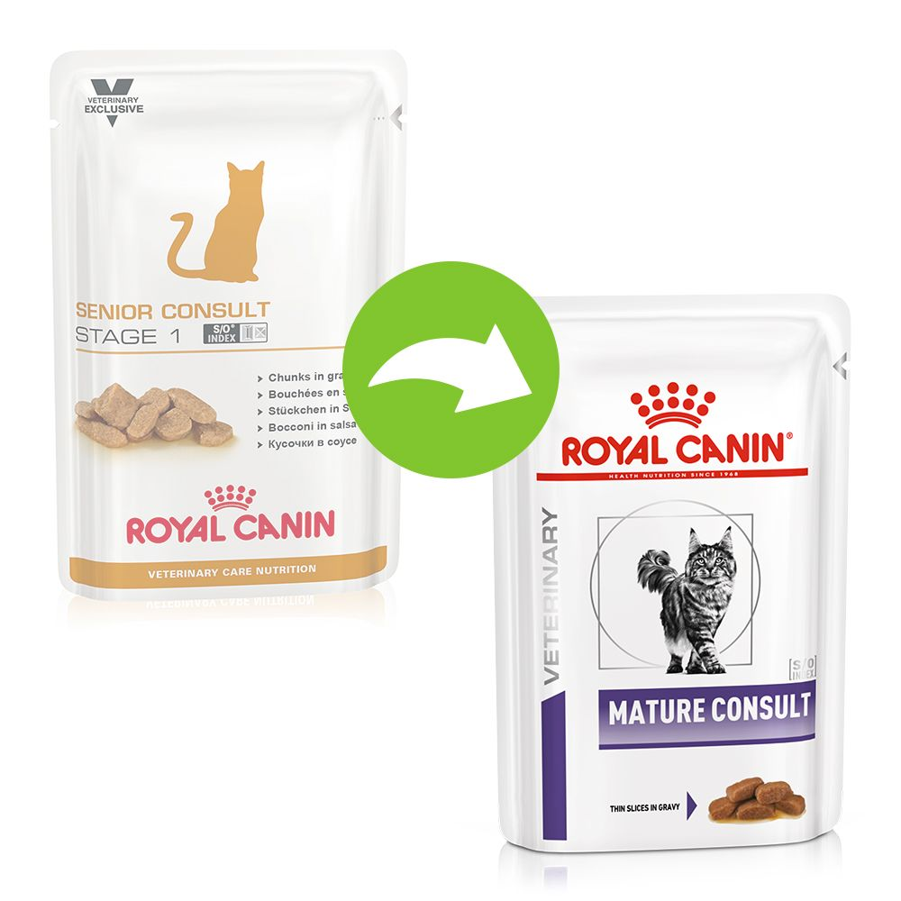 Royal Canin Veterinary Mature Consult pour chat - 24 x 85 g