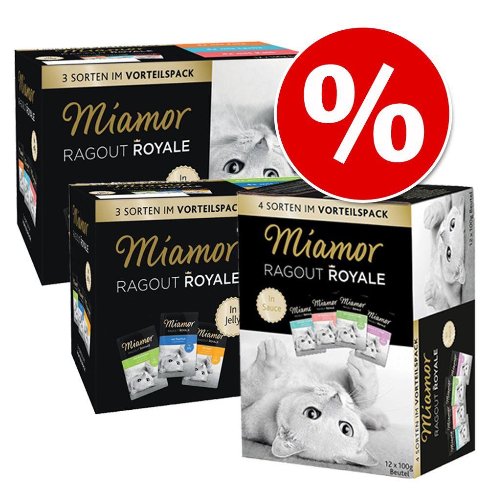 Mešano varčno pakiranje Miamor Ragout Royale 48 x 100 g - Mešano varčno pakiranje 48 x 100 g