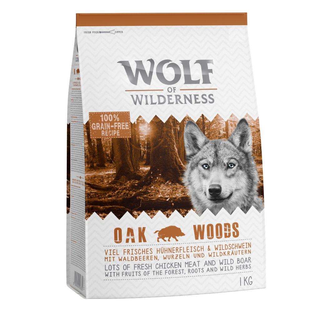 Wolf of Wilderness Oak Woods - Wild Boar - 1 kg