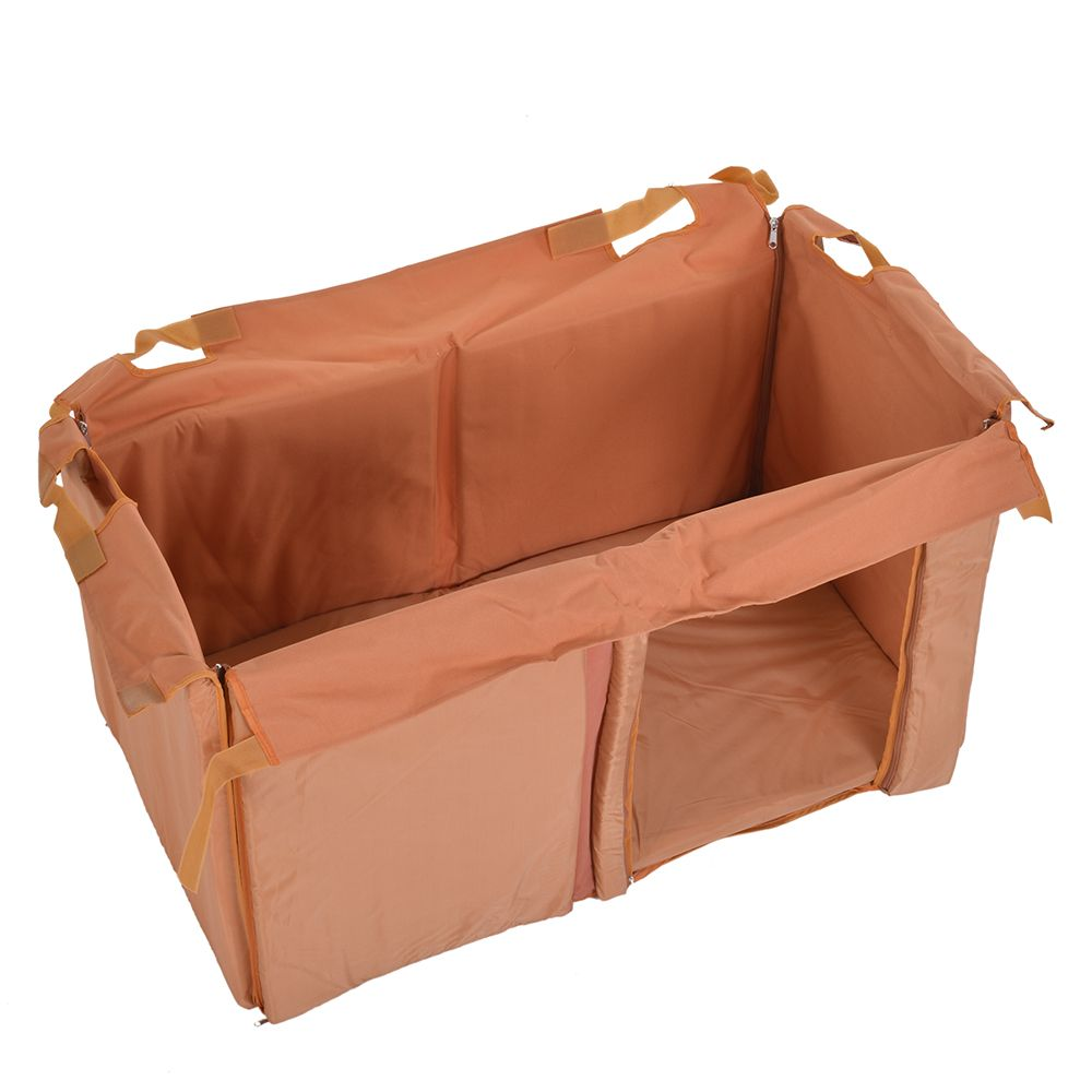 Insulation for Trixie Natura Flat Roof Dog Kennel - Size M: 92 x 54 x 53 cm (L x W x H)