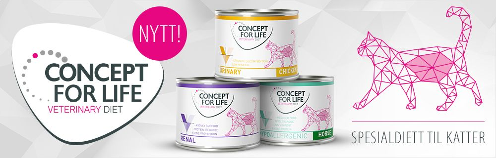 Concept for Life Veterinary Diet for Cats