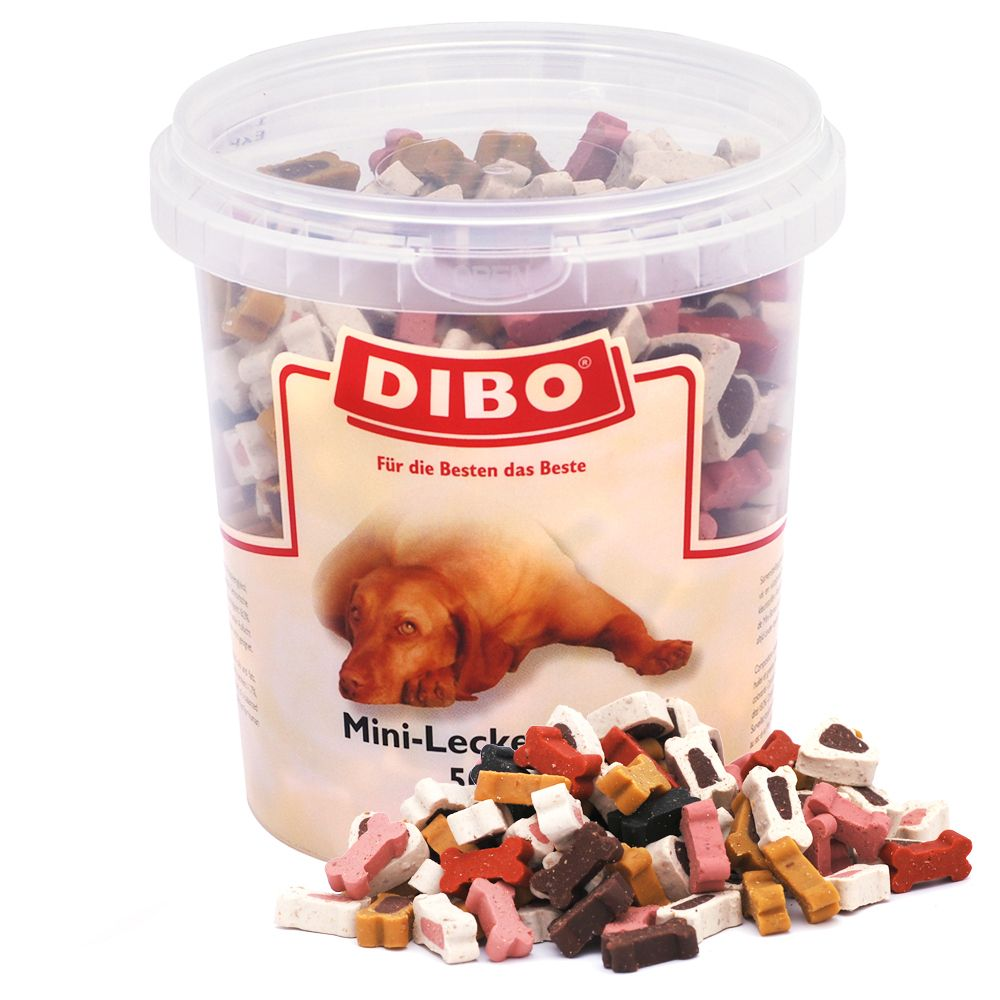 Dibo Mini-Treats Mix - Saver Pack: 3 x 500g