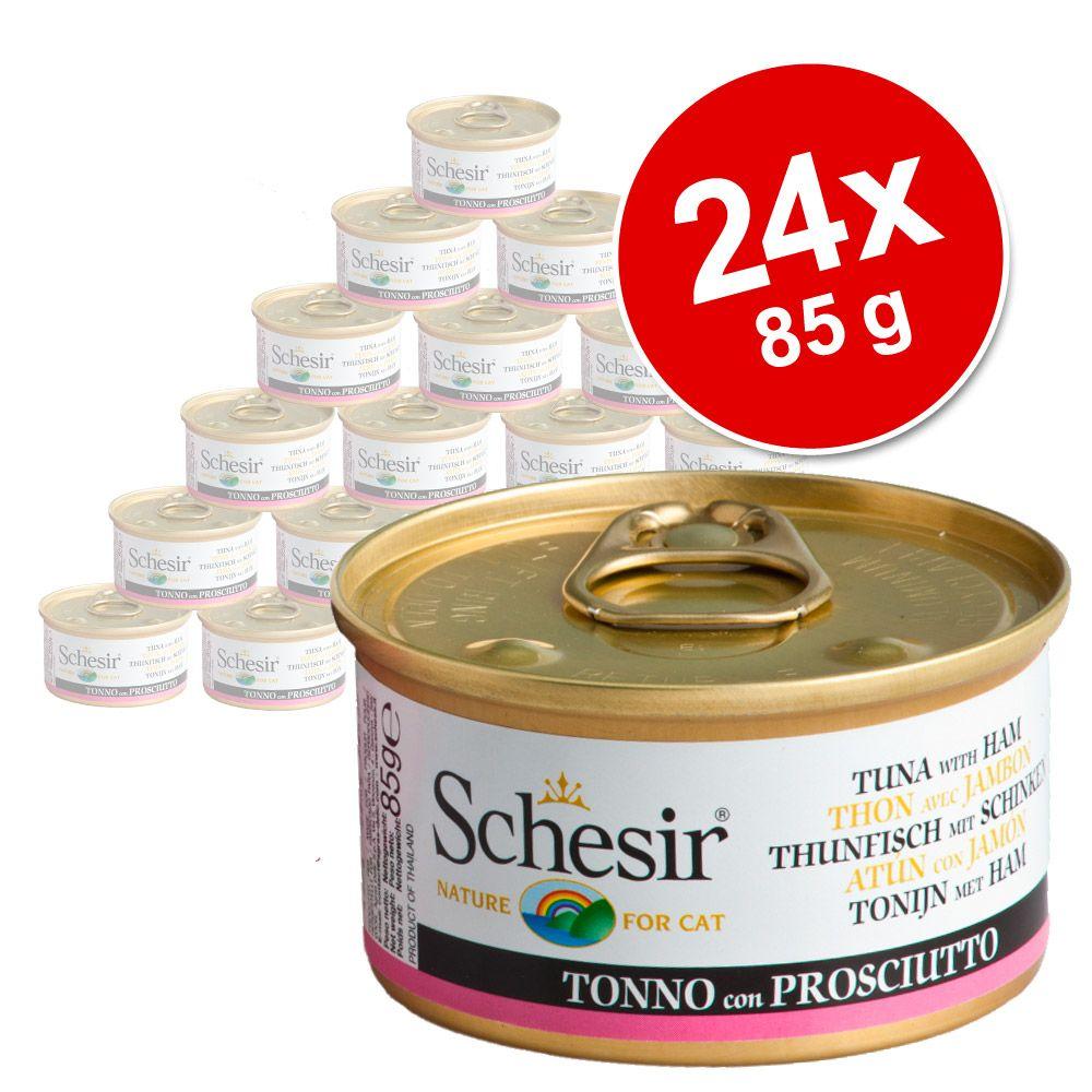 Sparpaket Schesir in Gelee 24 x 85 g - Thunfisch