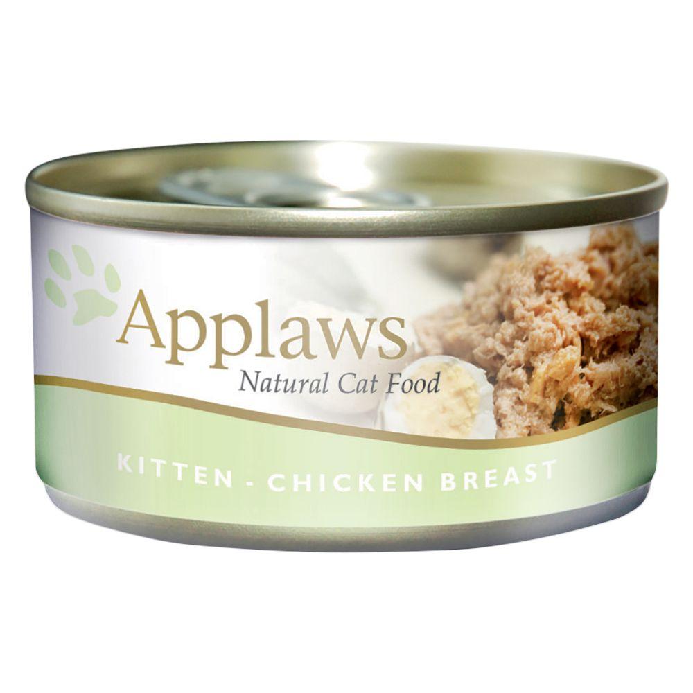 Applaws Kitten Food 70g - Chicken Breast 6 x 70g
