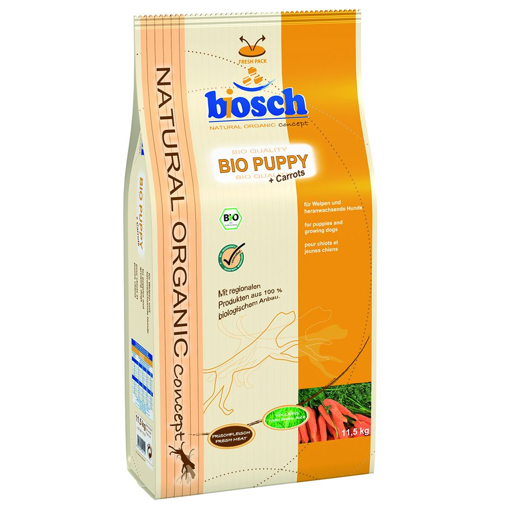bosch Organic Puppy Dry Dog Food - 11.5kg