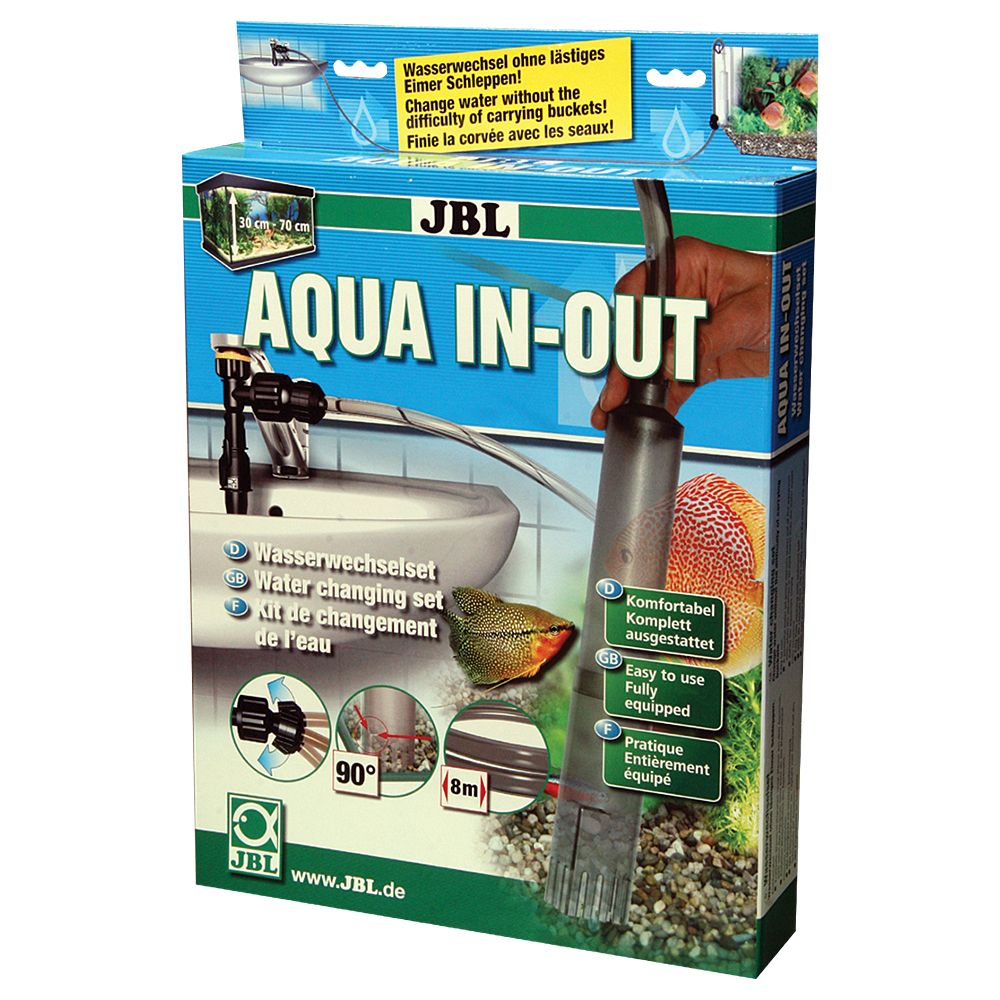JBL Aqua In-Out Water Changing Set - All-in-One Set