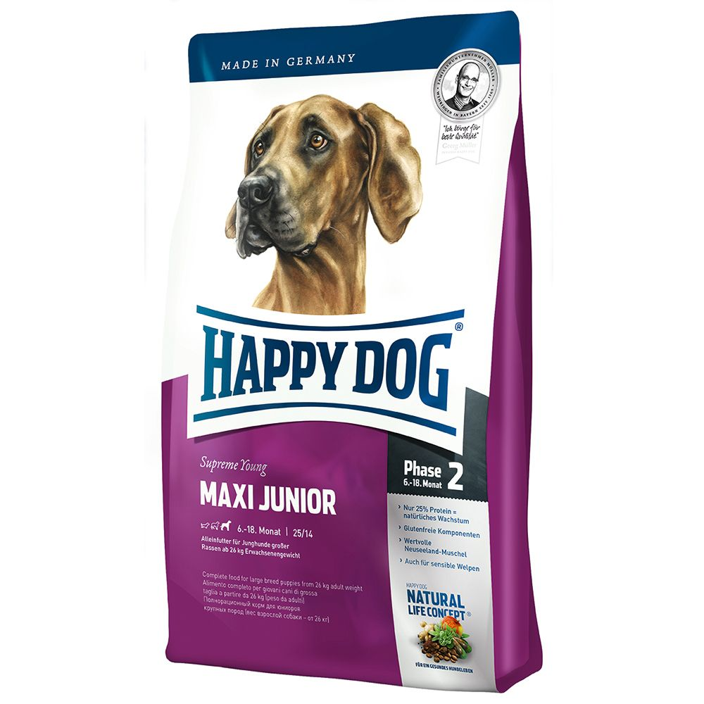 Happy Dog Supreme Young Maxi Junior (Phase 2) - 15kg