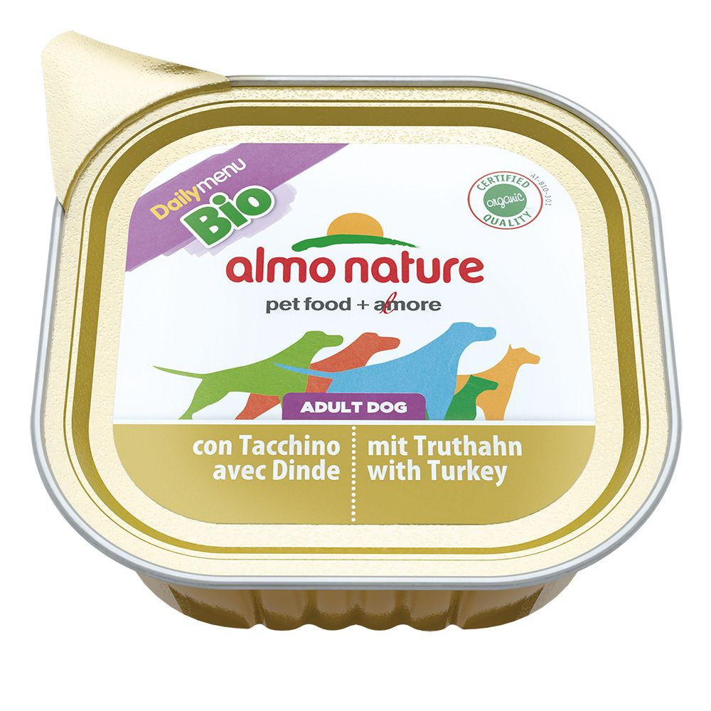 Almo Nature Daily Menu Bio Paté 6 x 100g - with Chicken & Vegetables