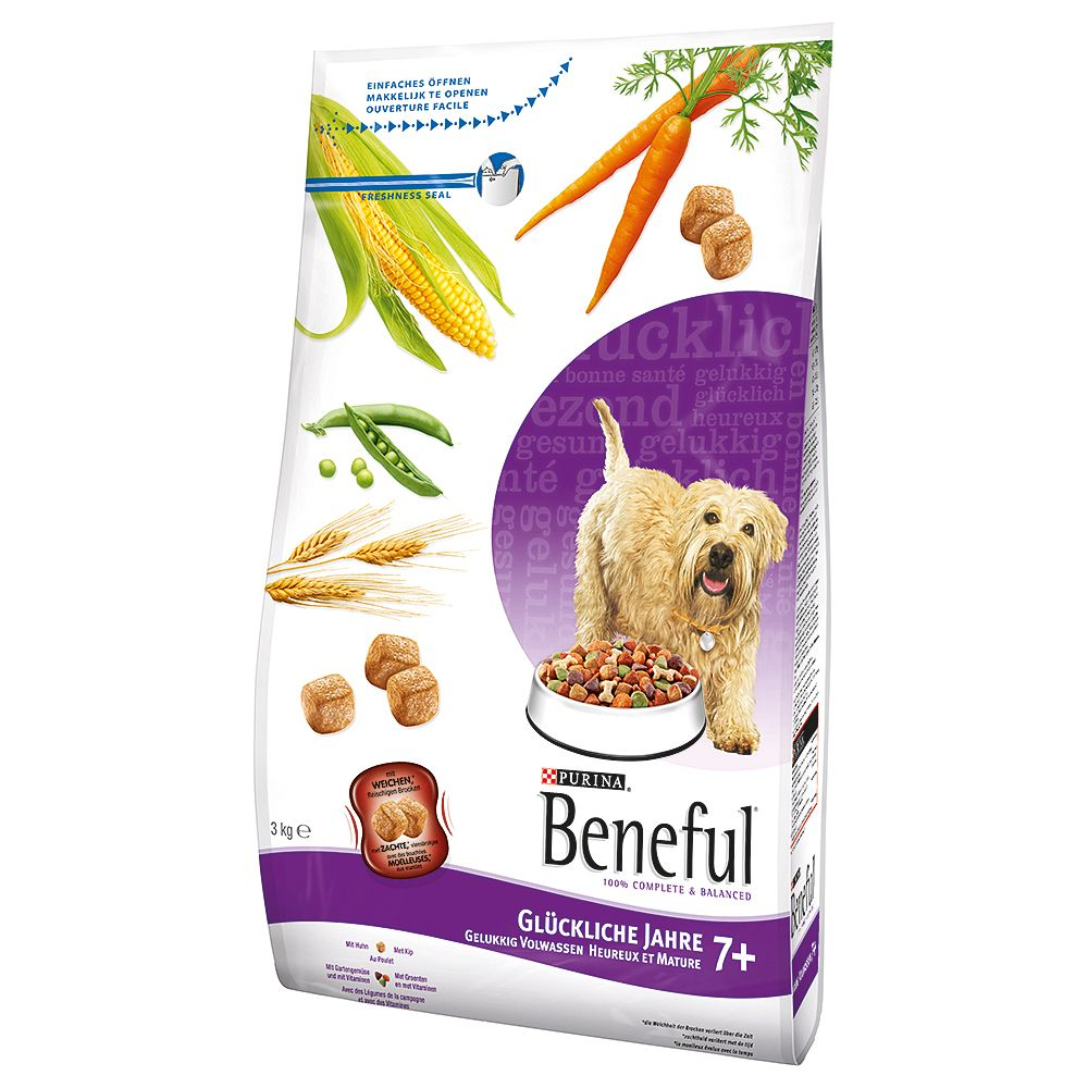 Beneful Playful Life 7+ Dog Food - Economy Pack: 2 x 12kg