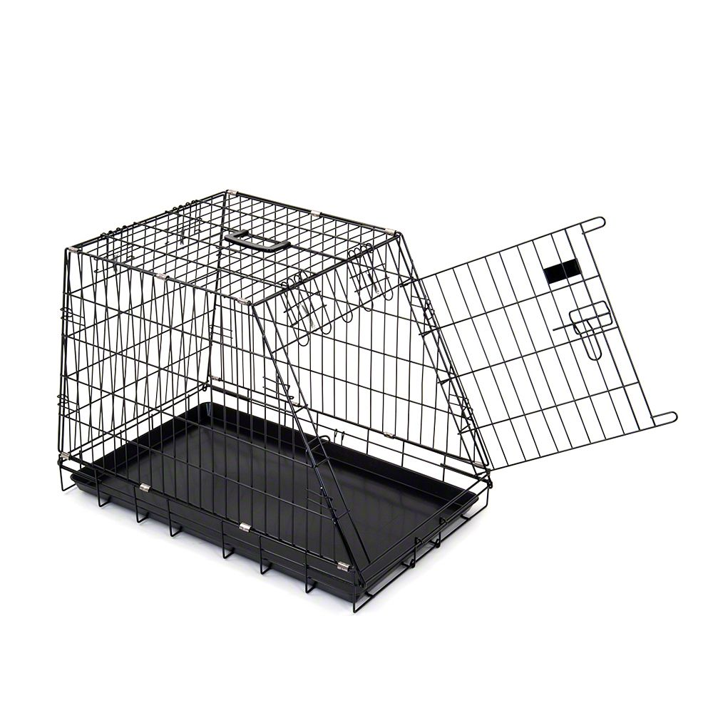 Sloping Dog Transport Cage - 78 x 48.7 x 56 cm (L x W x H)
