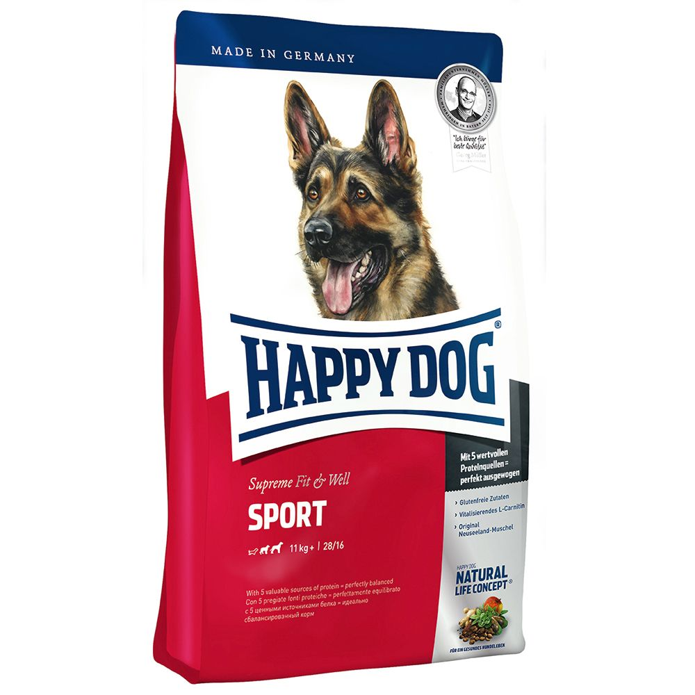 Happy Dog Supreme Fit & Well Adult Sport - Economy Pack: 2 x 15kg