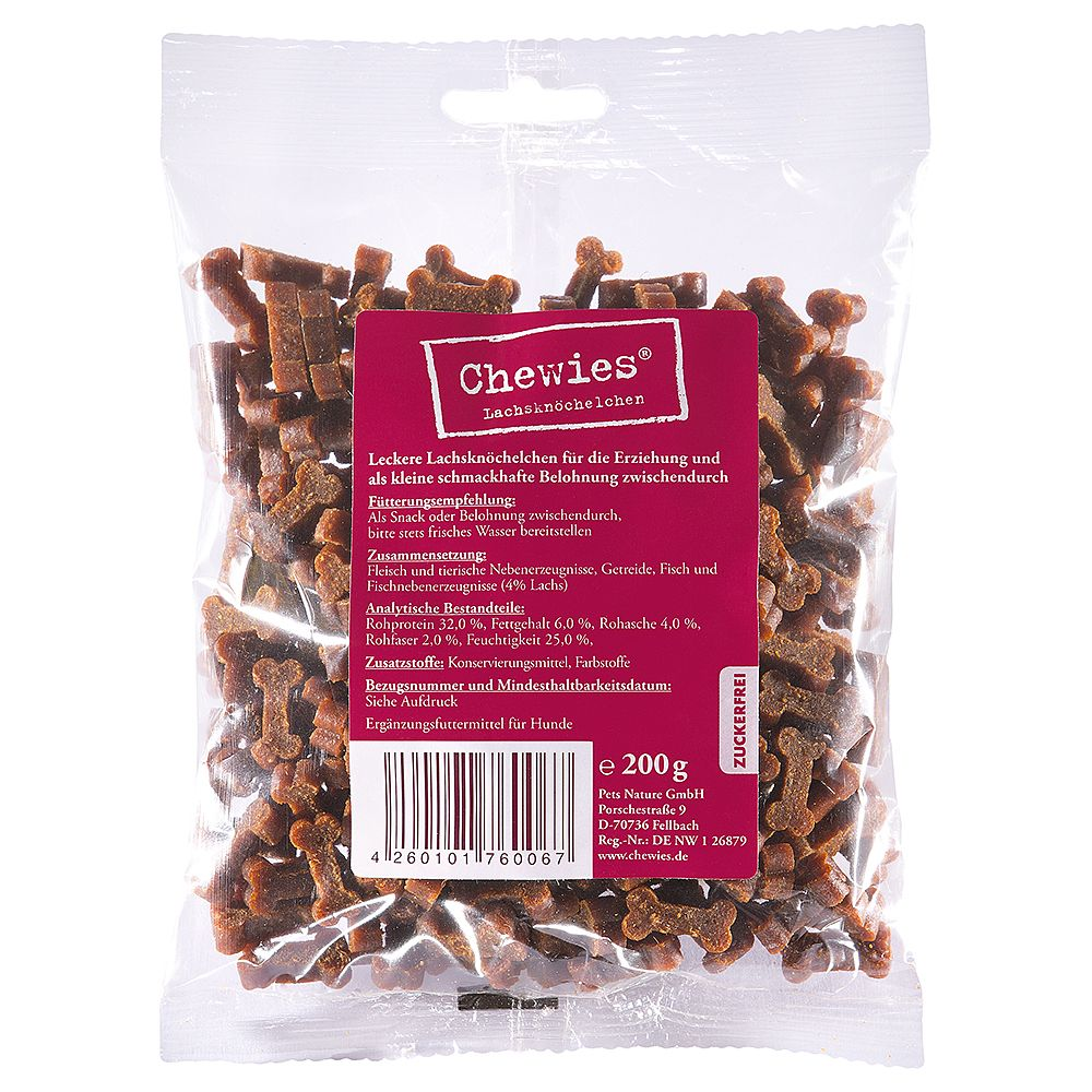 Chewies Bone Treats 200g - Game