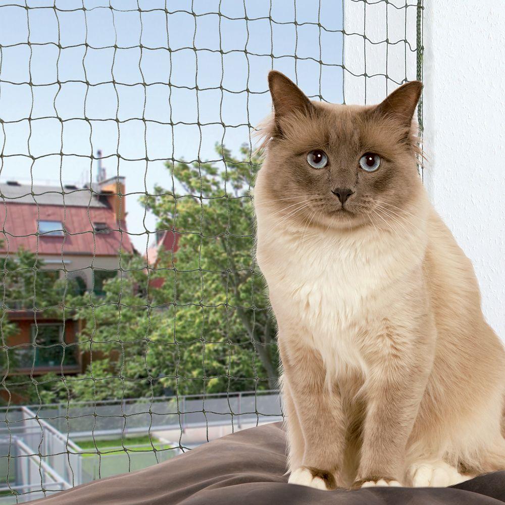 Trixie Katzenschutznetz mit Drahtverstärkung - 8 x 3 m