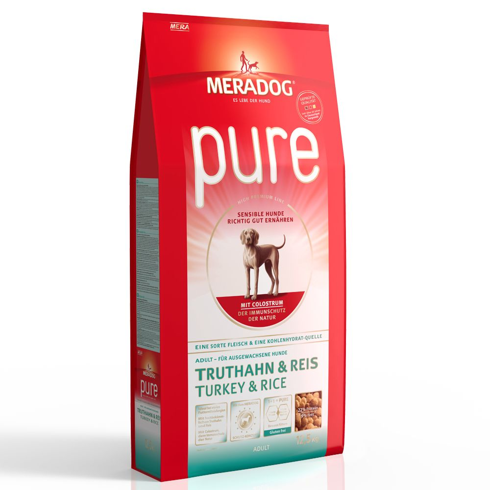 Mera Dog pure Turkey & Rice