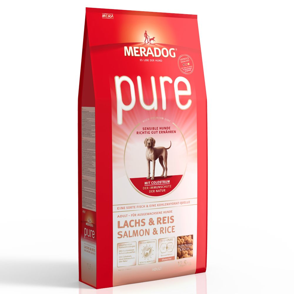 Mera Dog pure Salmon & Rice - Economy Pack: 2 x 12.5kg
