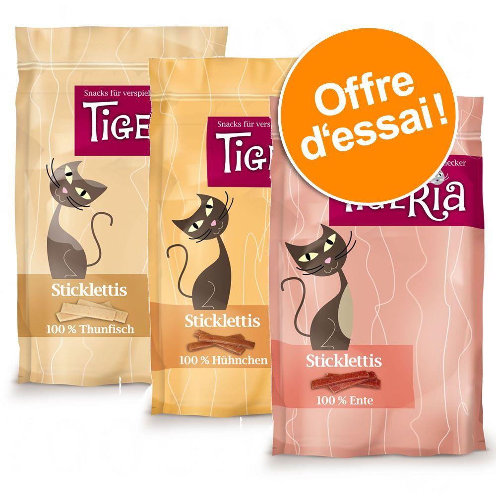 Chat Friandises ★ Tigeria Offres d´essai de friandises Tigeria pour chat