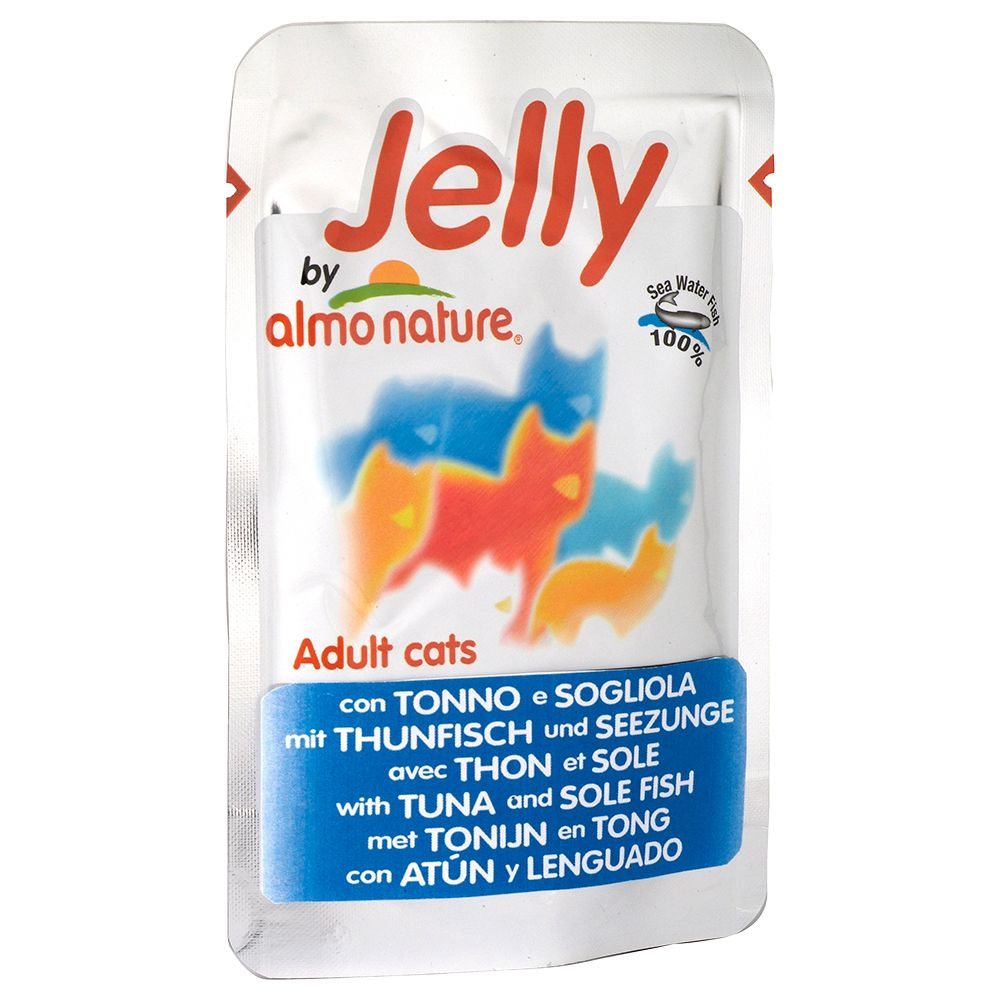 Almo Nature Jelly Pouches Saver Pack 24 x 70g - Tuna