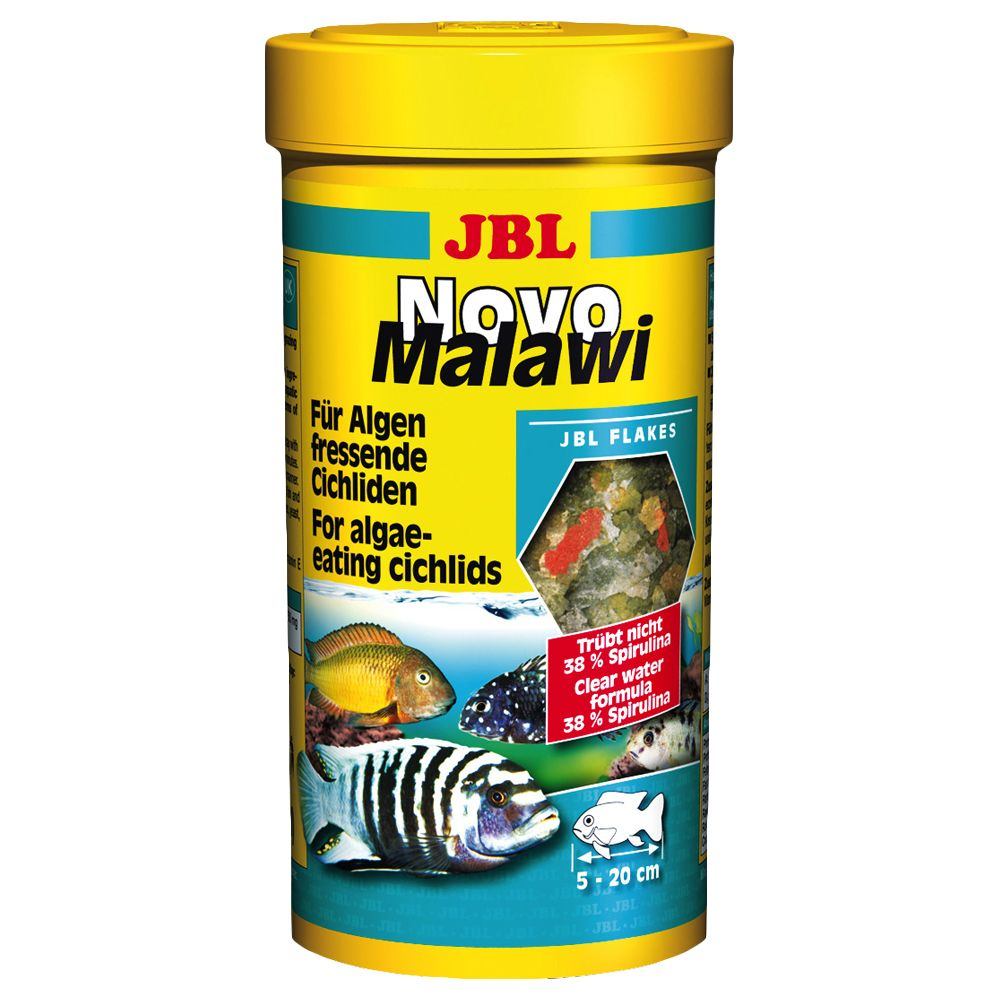 JBL NovoMalawi Flakes - for Cichlids - 1000ml