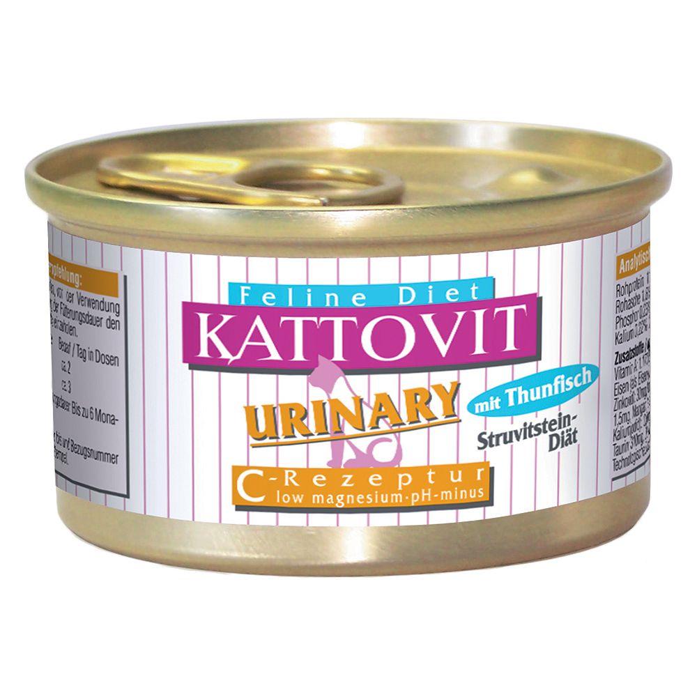 Kattovit Urinary (Struvite Stone Prophylaxis) 6 x 85g - Veal