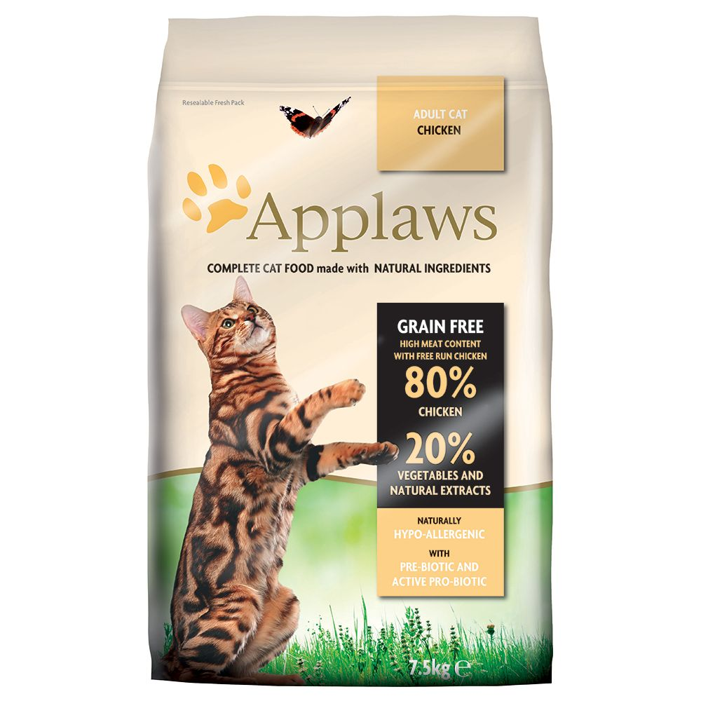 INOpets.com Anything for Pets Parents & Their Pets Applaws Chicken Cat Food - 400g