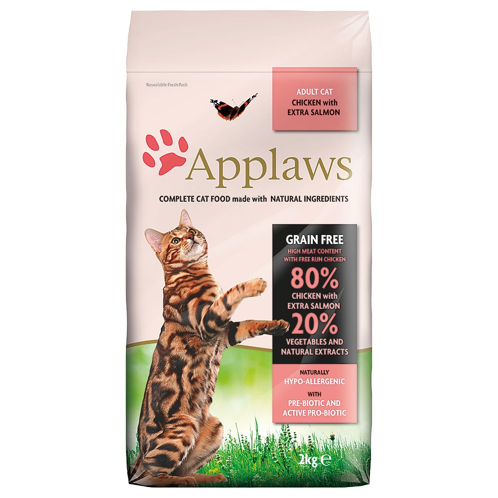 Applaws Grain-Free Cat Food Mixed Trial Pack 2 x 400g