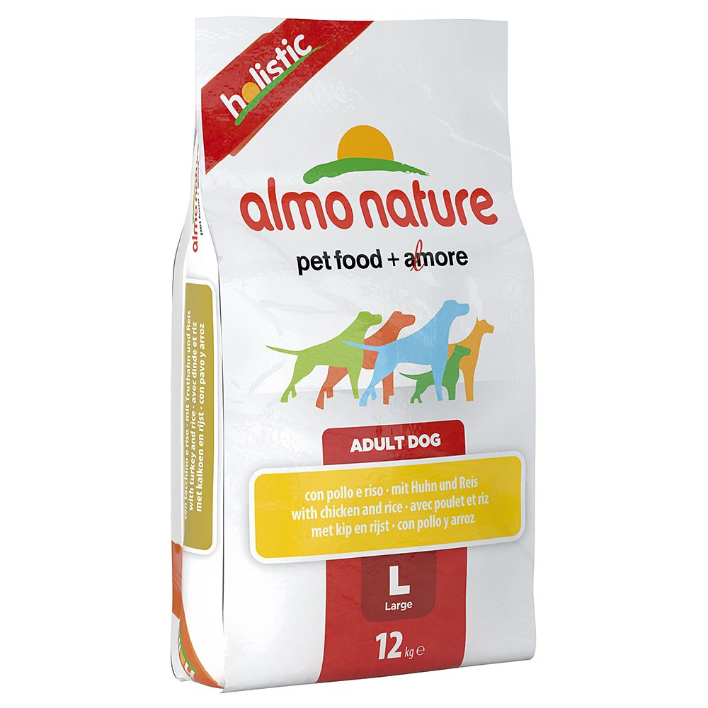 Almo Nature Holistic Economy Packs 2 x 12kg - Adult Medium Lamb & Rice