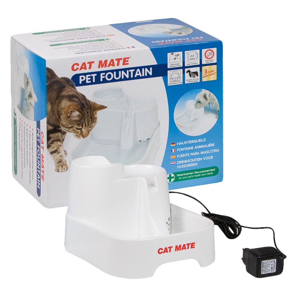 Cat Mate Trinkbrunnen - Trinkbrunnen 2 Liter 035368083358