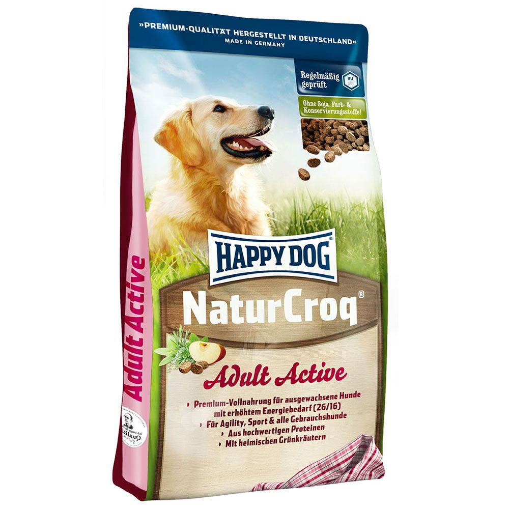 Happy Dog Natur-Croq Active - Economy Pack: 2 x 15kg