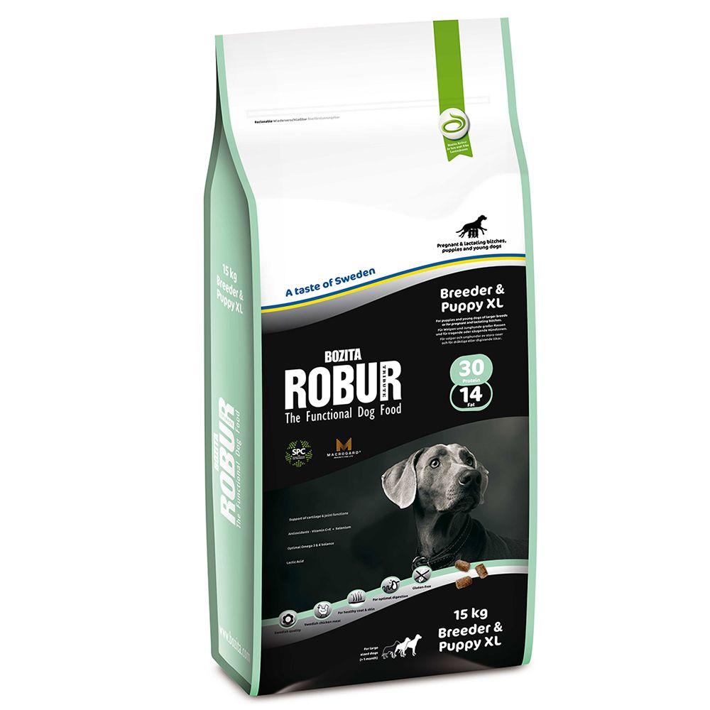 Bozita Robur Breeder & Puppy XL 30/14 - Economy Pack: 2 x 15kg
