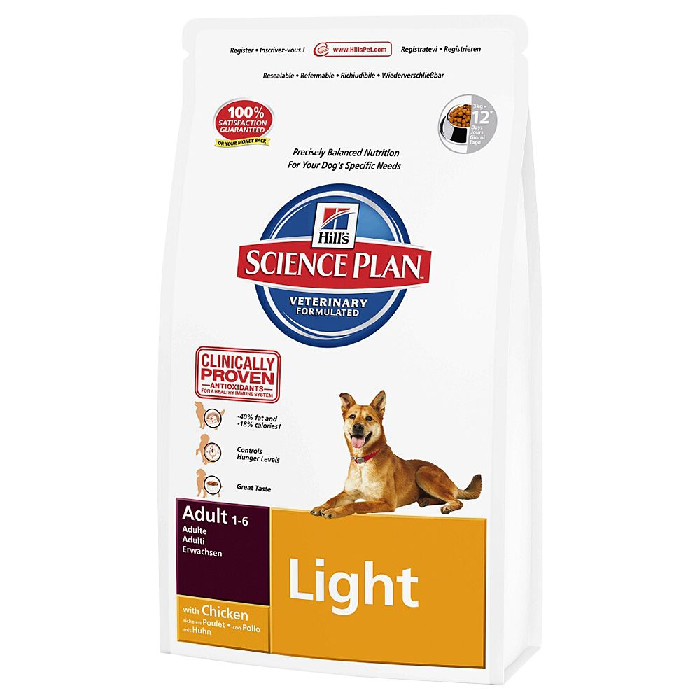 Hill's Science Plan Adult Light - Chicken - 12kg